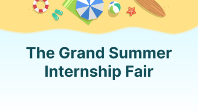 Photo of The Grand Summer Internship Fair Online