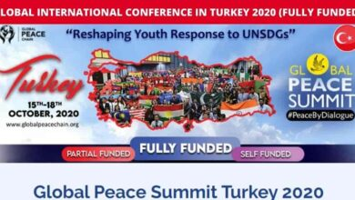 Photo of Global Peace Summit Turkey 2020