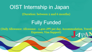 Photo of Japan OIST Internship Programme