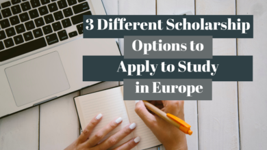 Photo of 3 Different Scholarship Options to Study in Europe